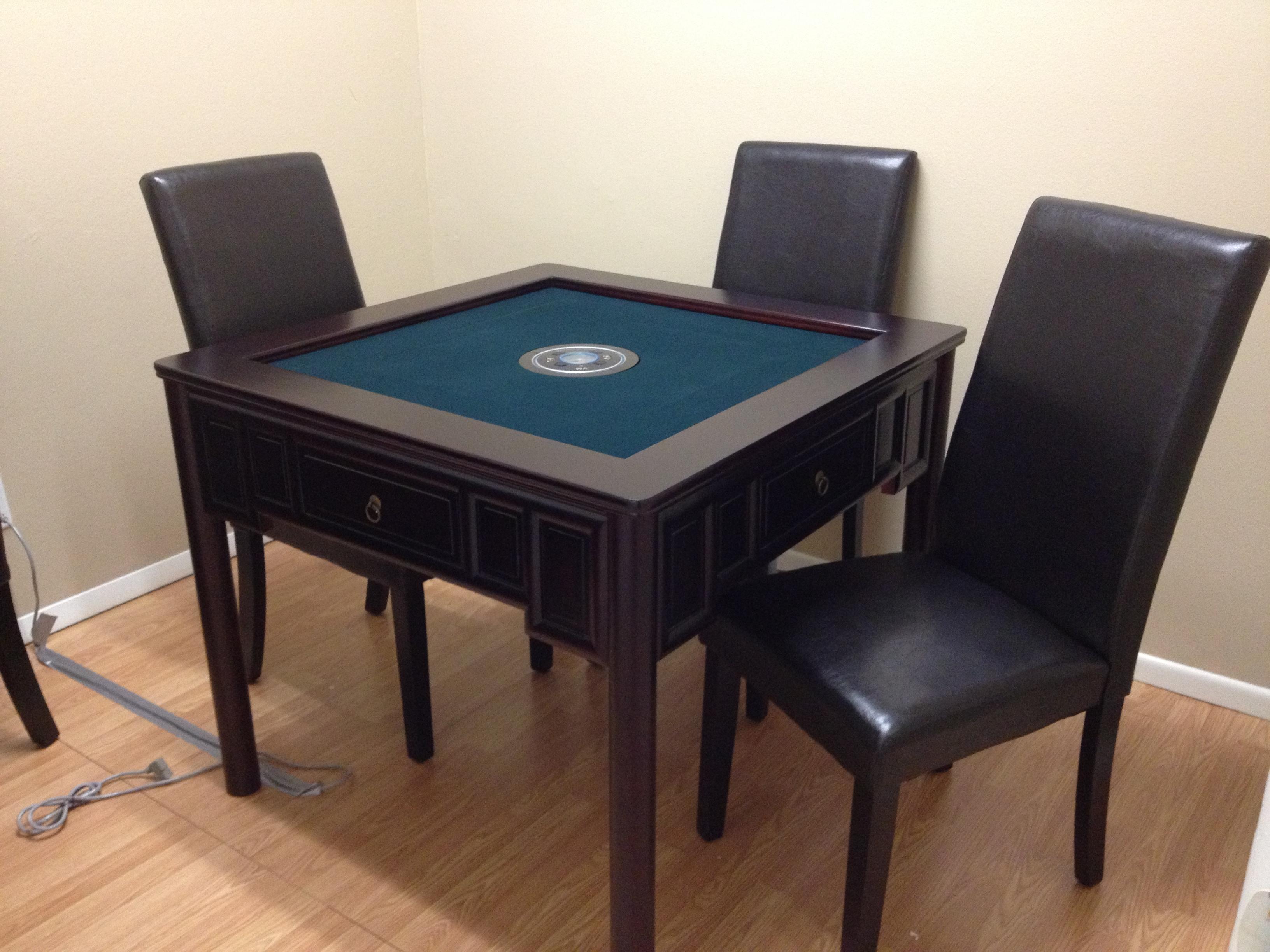 Mahjong Table Ming Qing Dynasty VMAMT W5