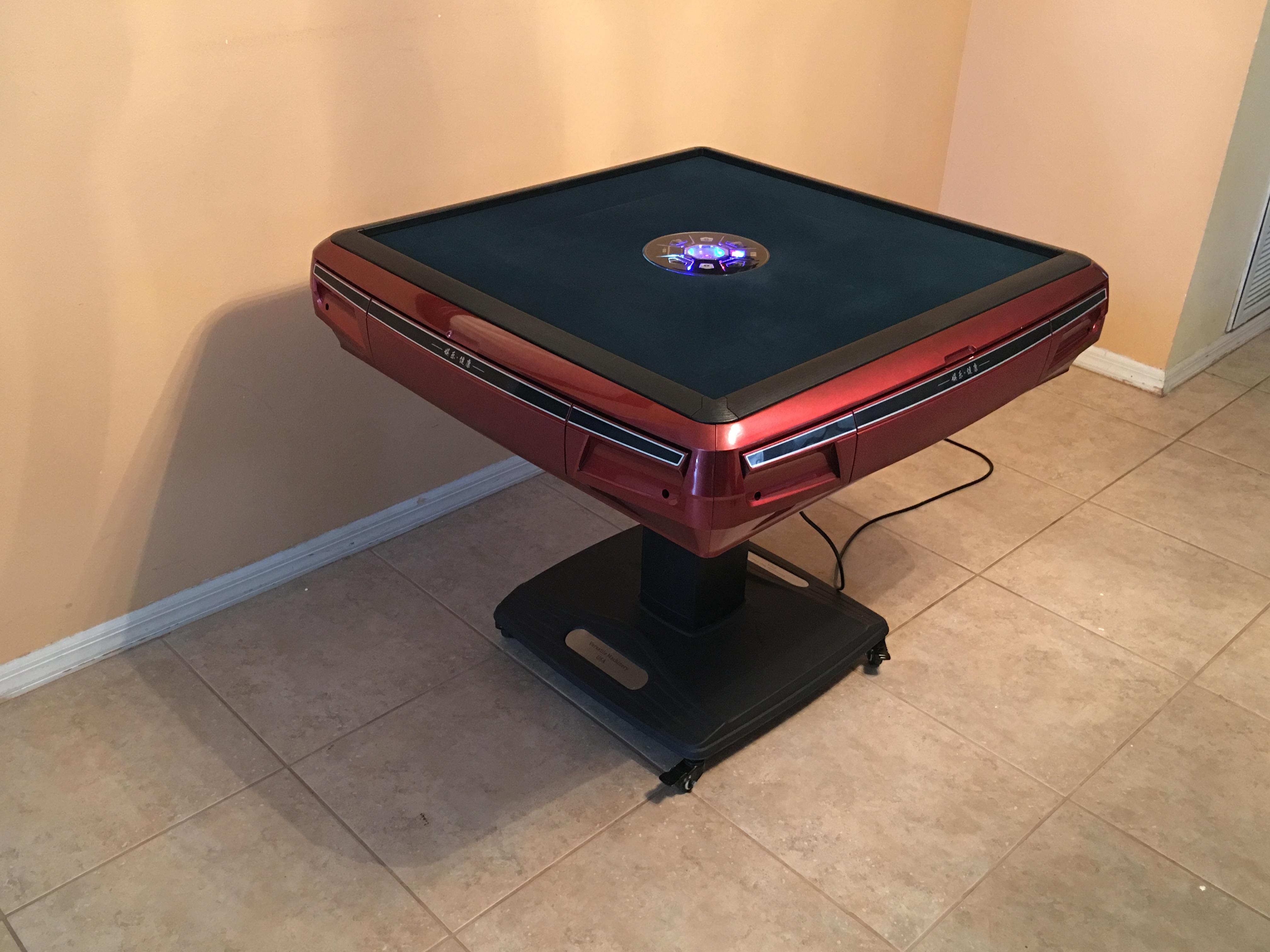 Chinese Automatic Mahjong Table Majiang Table éº å°†æ¡Œ
