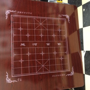 Automatic Mahjong Table Wooden cover